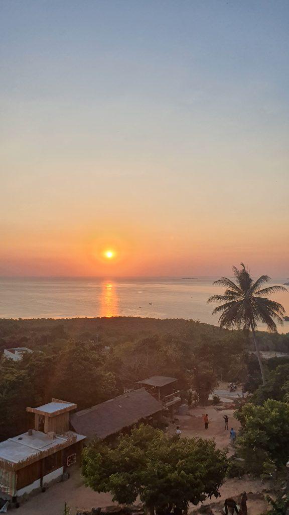 karimunjawa coucher de soleil